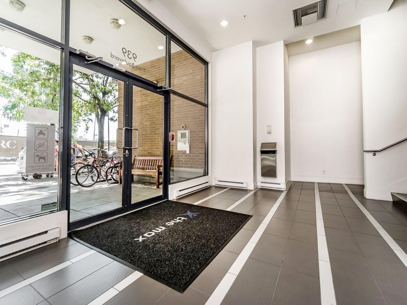 Vancouver downtown apartment max entrance