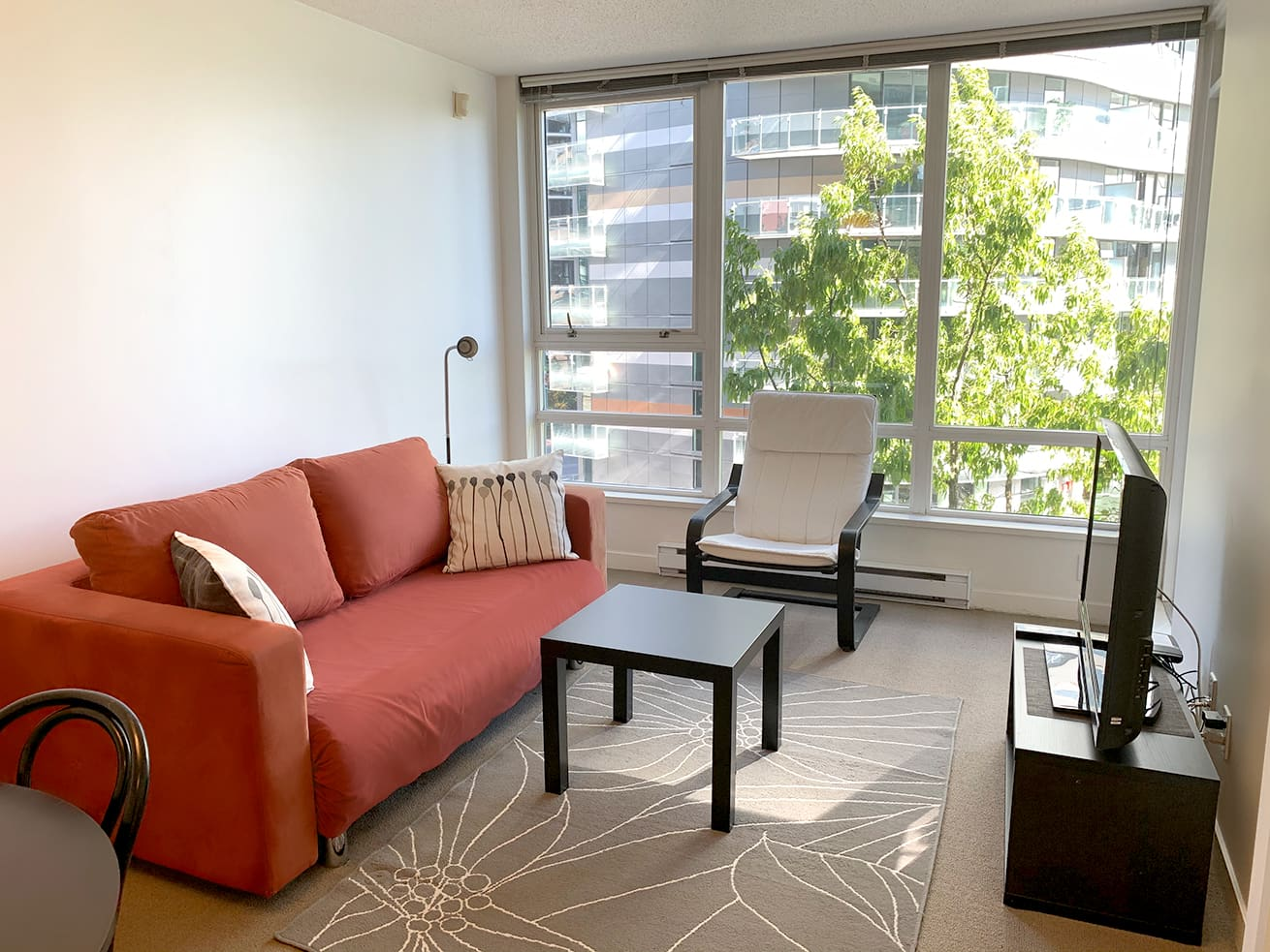 Vancouver downtown apartment max one bedroom den