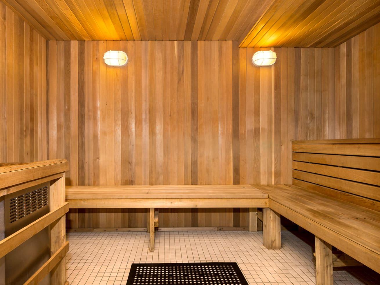 Vancouver apartment rentals max sauna steam room