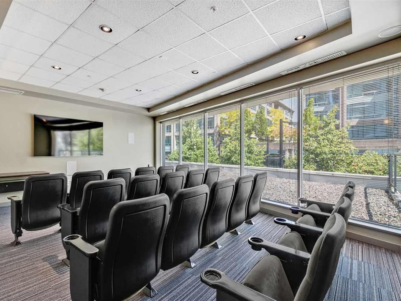 Vancouver apartment rentals max theatre room