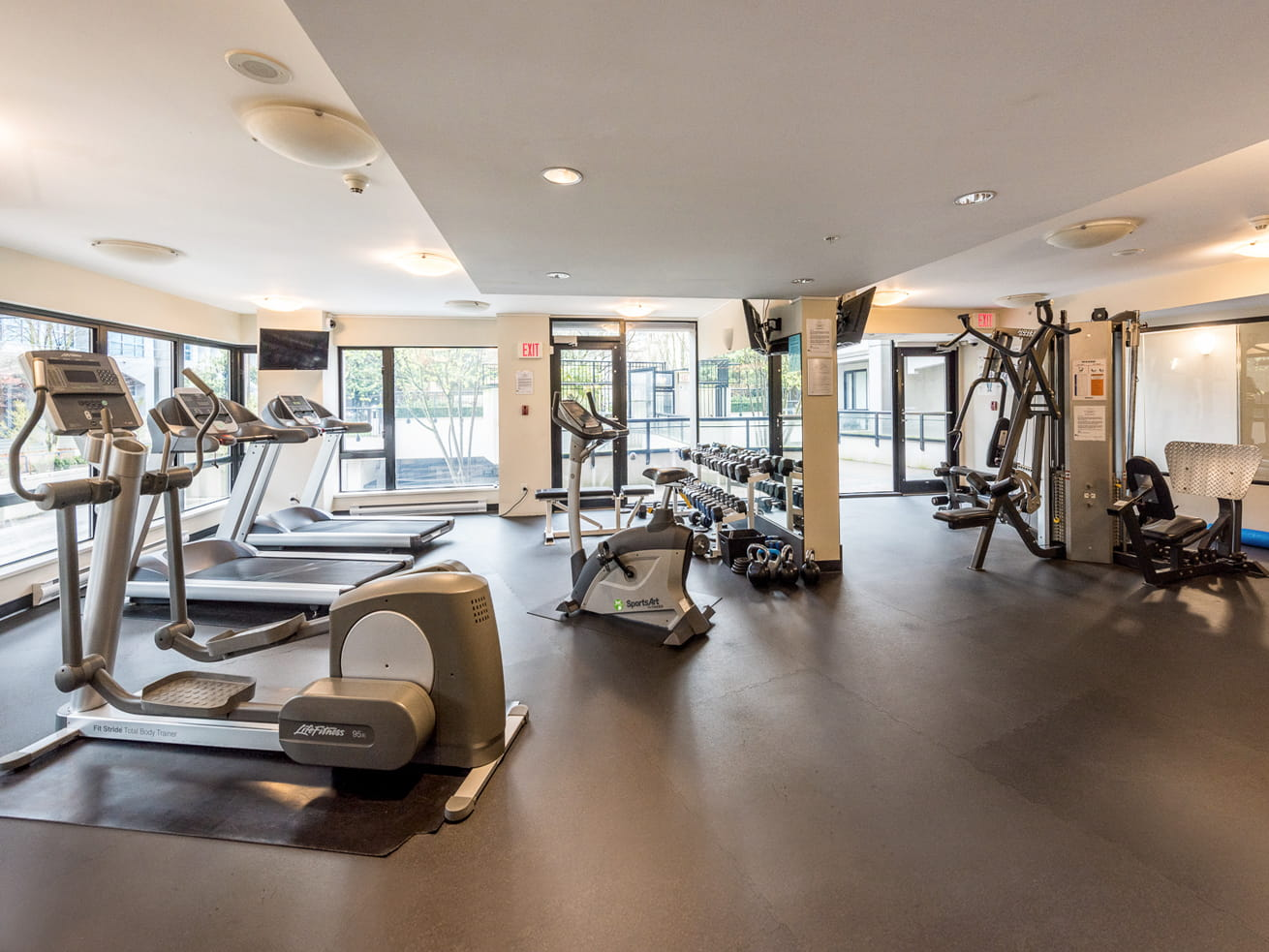 Vancouver executive suite oscar fitness facility