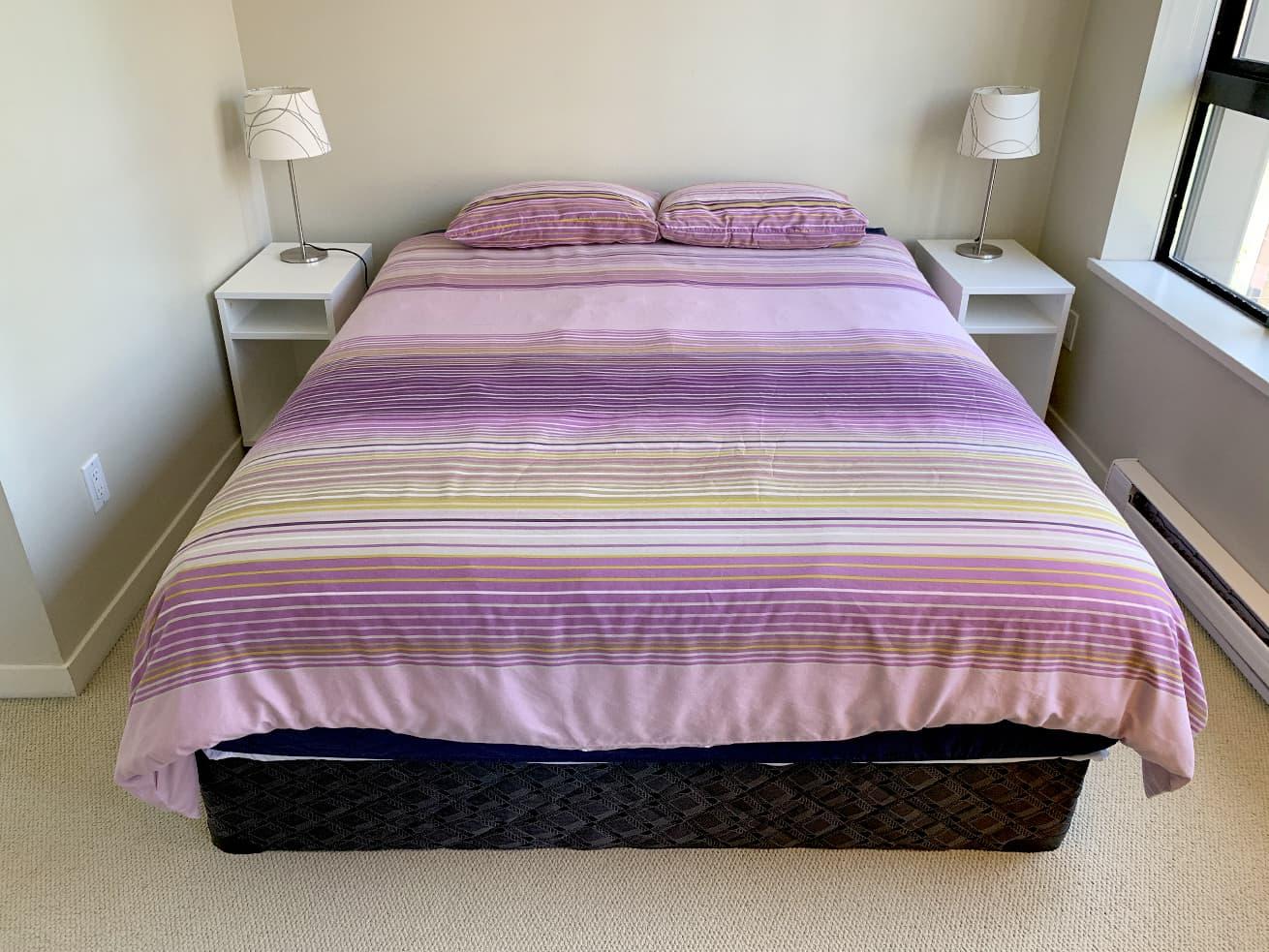 Vancouver condo rentals oscar studio sleeping area