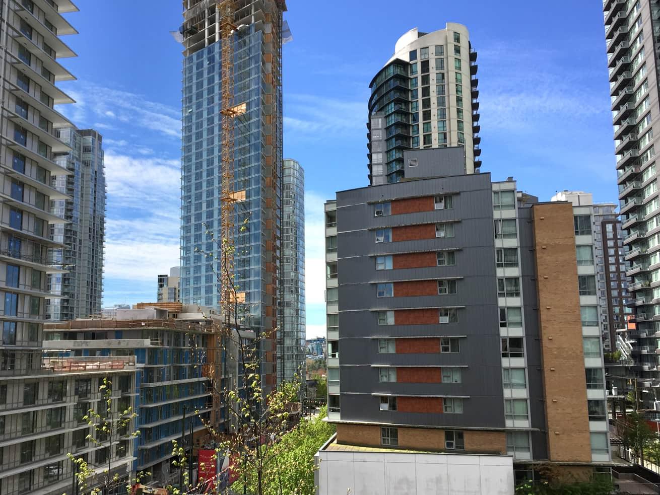 Vancouver condo rentals oscar studio view