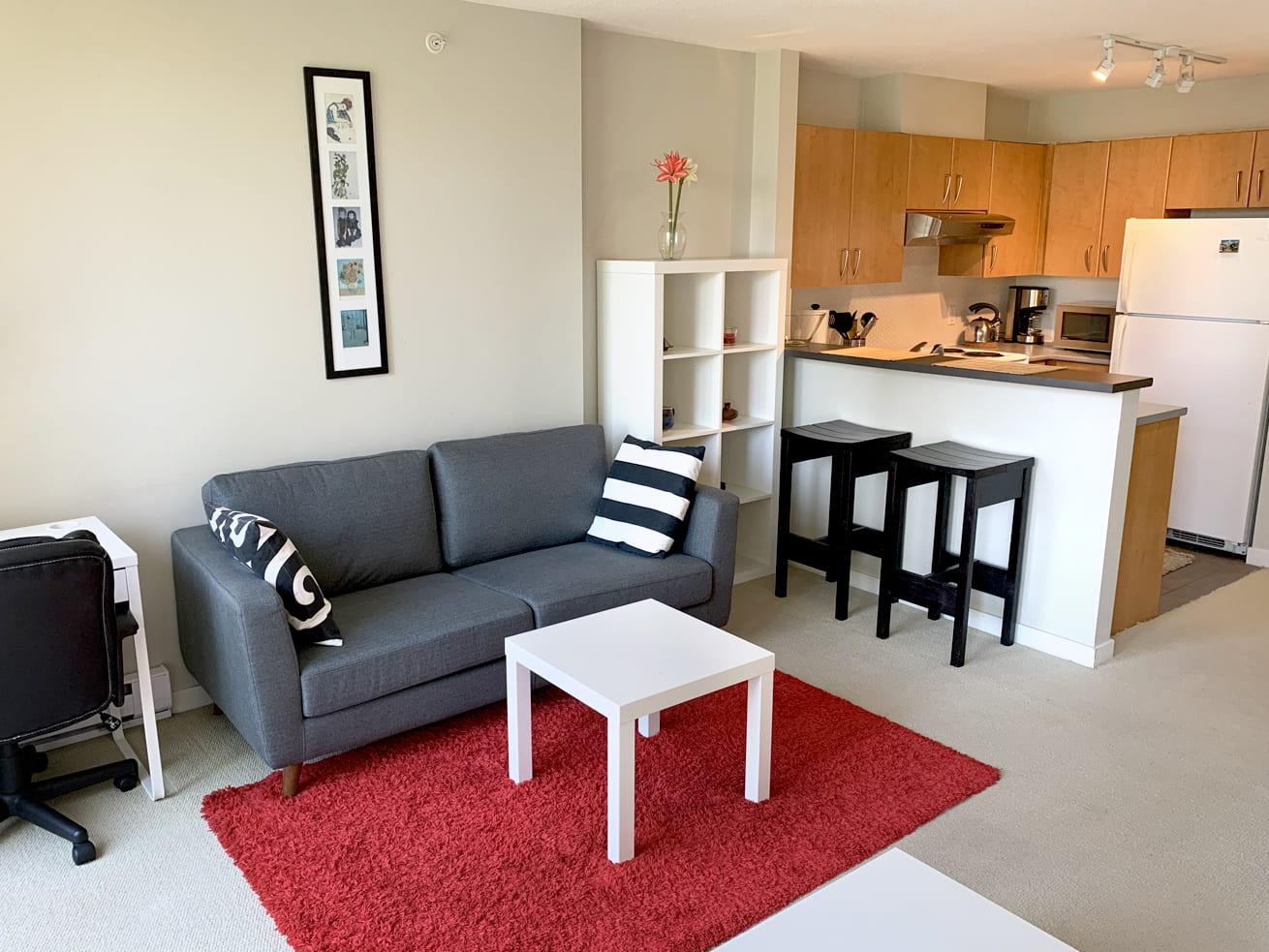 Vancouver condo rentals oscar studio