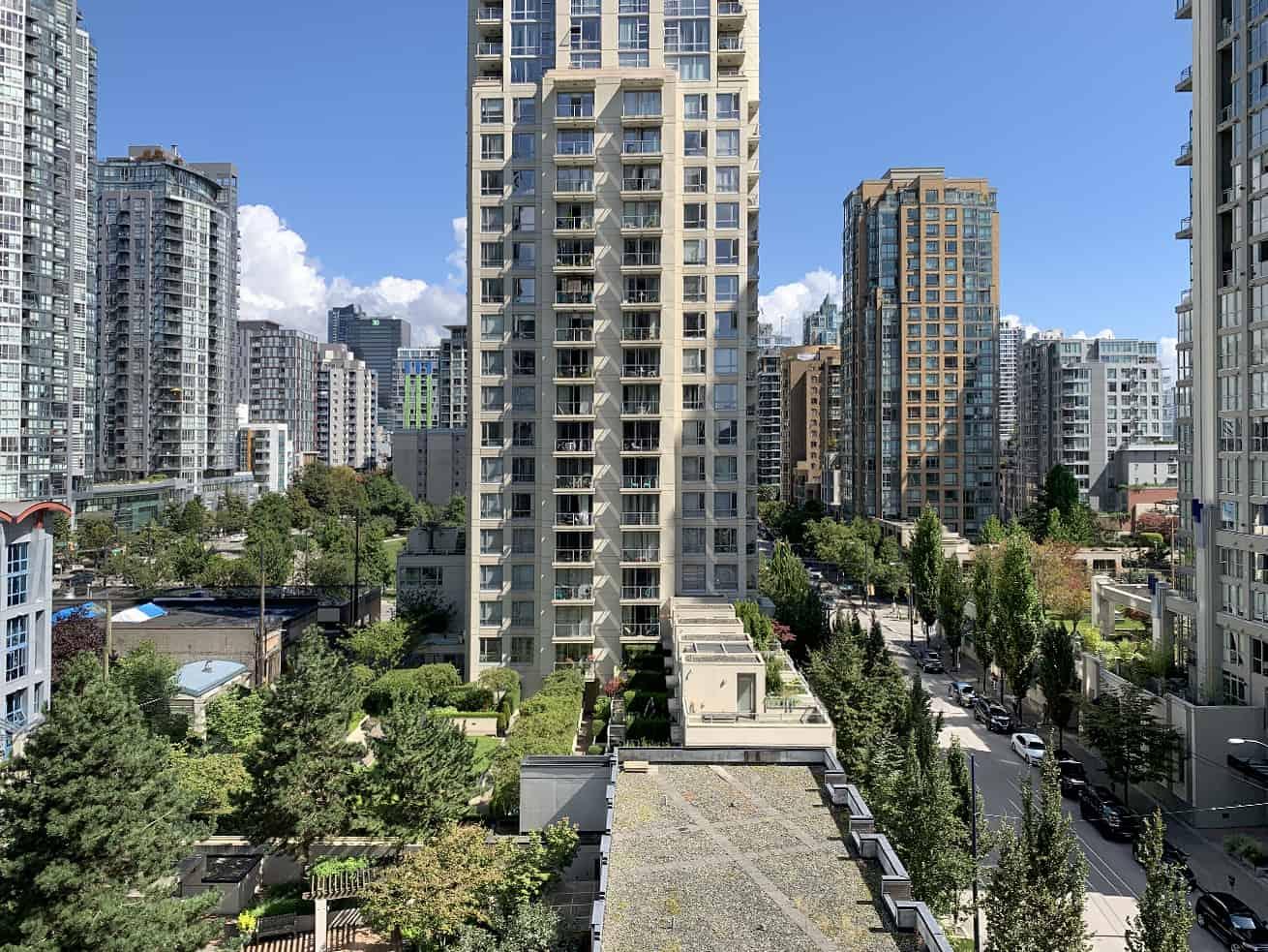 Vancouver apartments for rent oscar studio view