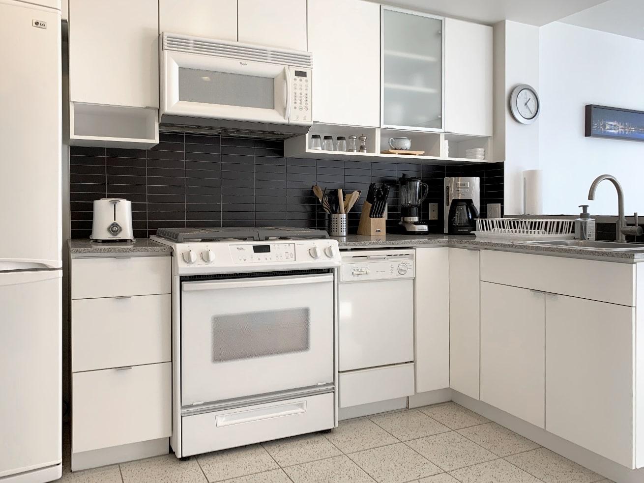 Yaletown apartment rentals max studio den kitchen
