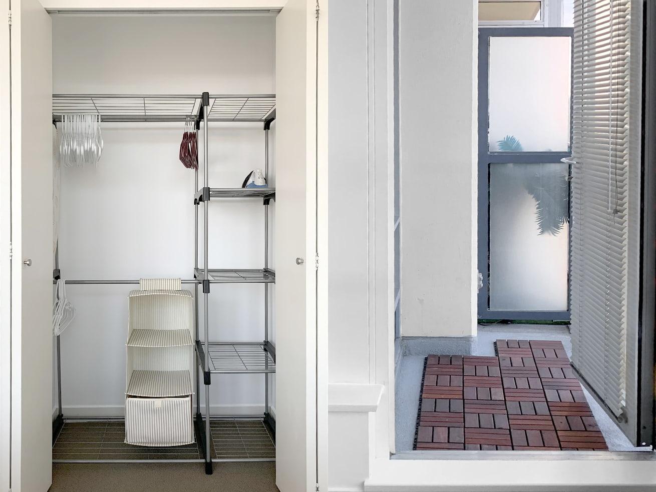 Vancouver apartment rentals max studio den closet balcony