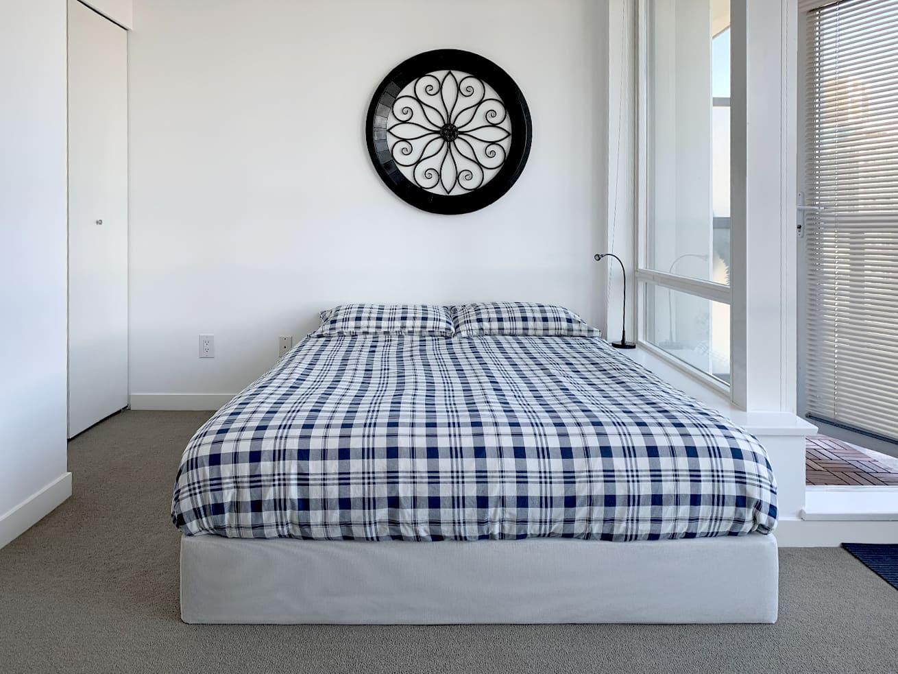 Vancouver apartment rentals max studio den sleeping area